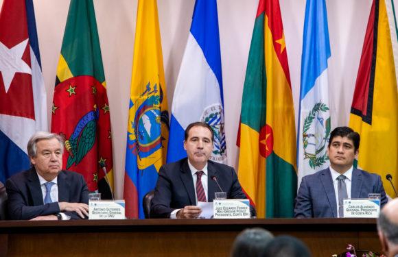 Alvarado y Guterres celebrarán el 40 aniversario de creación de la CorteIDH