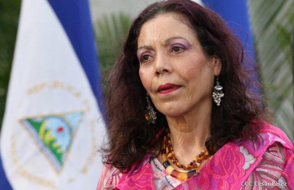 Vicepresidenta de Nicaragua considera «amargados» a quienes rechazan a Ortega