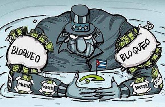 Bloqueo de EE.UU. somete a Cuba a una persecución financiera