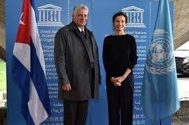Directora de Unesco acepta invitación para visitar Cuba en 2019