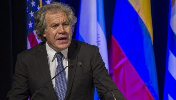Almagro inicia la aplicación de la Carta Democrática de la OEA a Nicaragua