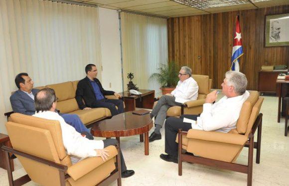 Canciller Jorge Arreaza de Visita en Cuba
