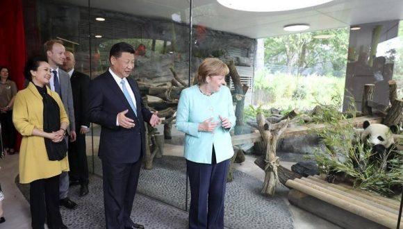 Merkel y Xi abogan por salvaguardar el pacto nuclear con Irán