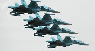 El Su-34 y el An-26, en todo su esplendor: la Defensa rusa muestra sus habilidades