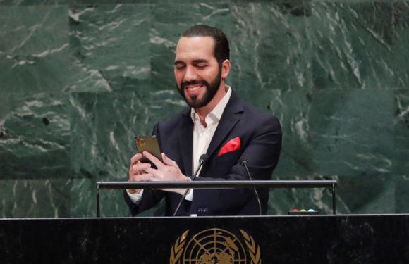El presidente de El Salvador critica el modelo de la Asamblea General de la ONU