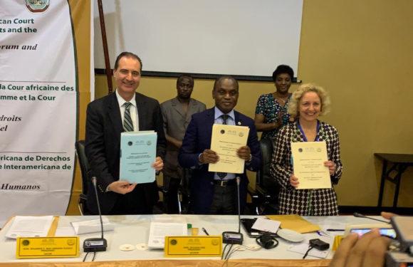 Corte IDH, Corte Africana y Tribunal Europeo firman declaración para consolidar espacios de diálogo permanente