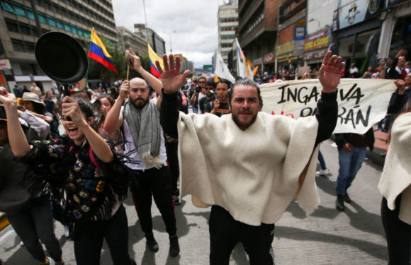 Colombia se enfrenta a una nueva huelga general