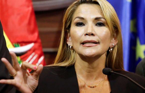 La presidenta de facto de Bolivia dice que el informe final de la OEA es una prueba de fraude
