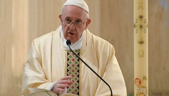 Papa Francisco: «Todo será distinto» tras la pandemia, con un mundo «mejor o peor»