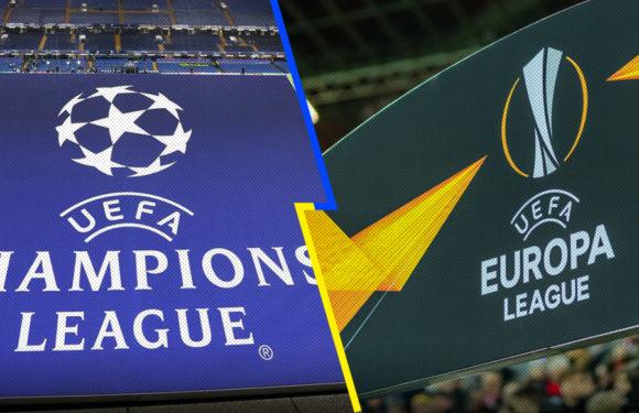 Definen fecha para sorteos de Champions y Liga Europa de fútbol