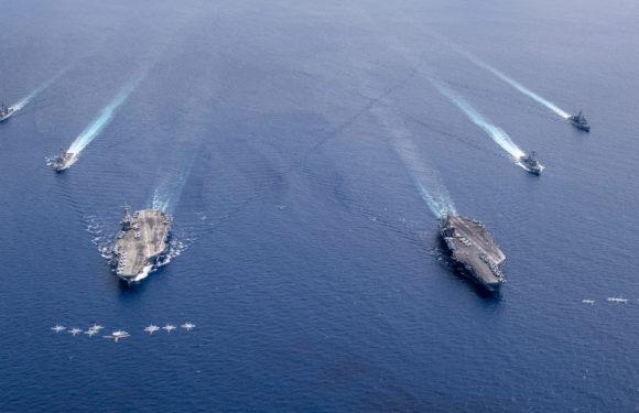 La armada de EE.UU. realiza una operación de «libertad de navegación» en el Caribe para desafiar el «excesivo reclamo marítimo de Venezuela»