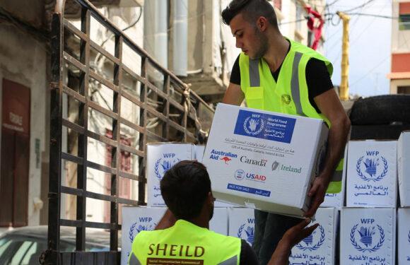 El PMA envía 17.000 toneladas de comida a Líbano