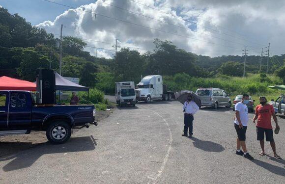 Manifestantes en Caldera rechazan oferta de diálogo del Gobierno