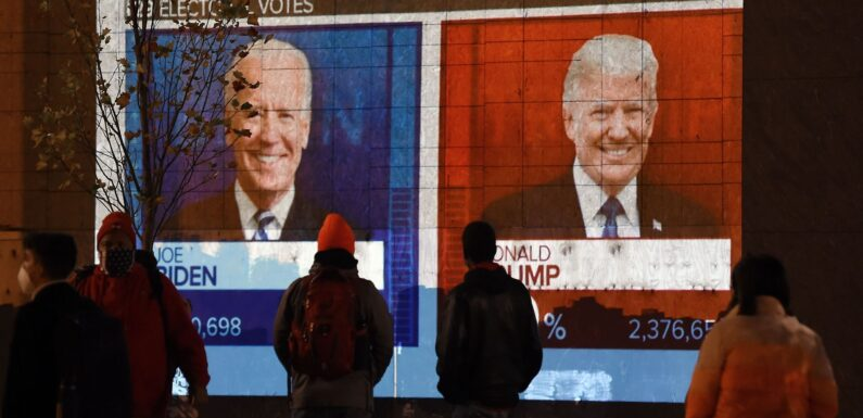 Proceso electoral estadounidense se mantiene muy cerrado